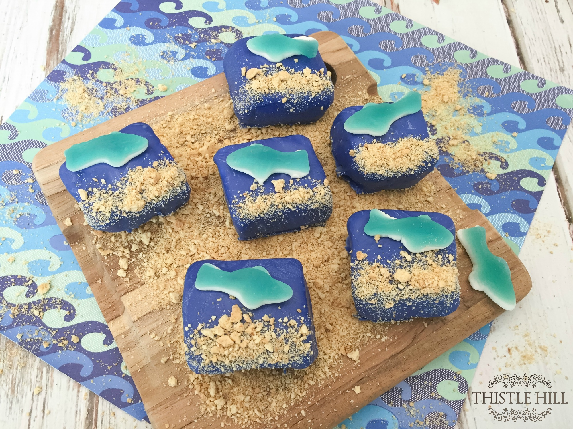 Shark Week S'more Treats