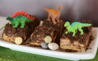 The Ultimate Dinosaur Dirt Bars Recipe