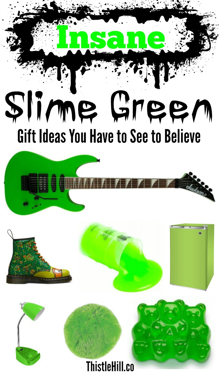 Slime Green Gift Ideas - Thistle Hill