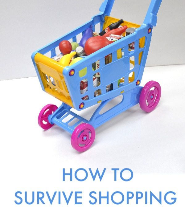 How to Survive Shopping with Your Autistic Toddler
