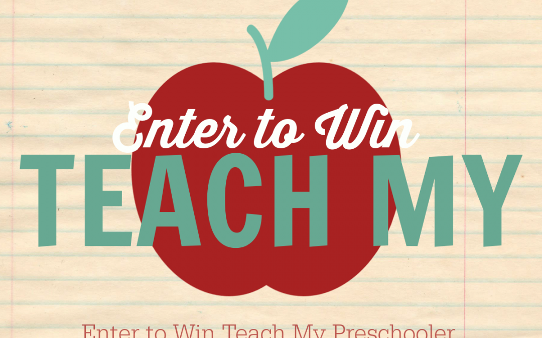 Enter to Win a Teach My Preschooler Learning Kit